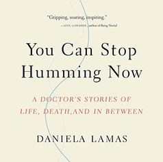 AudioFile Magazine Review: YOU CAN STOP HUMMING NOW A Doctor's Stories of Life, Death, and in Between by Daniela Lamas, MD | Read by Daniela Lamas, Susannah Jones Contemporary Culture • 6 hrs. • Unabridged • © 2018 Intensive care patients, their loved ones, and even their doctors rarely consider life after the ICU. In this medical nonfiction narrated by Susannah Jones, with an introduction and epilogue read by the author, a critical care physician examines life after a stay in intensive care. One man lives with a battery-powered pump that keeps his blood moving because his heart is not strong enough. A woman is kept alive by a machine that re-oxygenates her blood outside of her body. Lamas is interested in human stories but also in the technological advances that make them possible. Her narration is less smooth than Jones's but projects her engagement with her topic. Jones's more polished performance, complete with a variety of voices, helps listeners see the patients in Lamas's stories as real people. E.C. © AudioFile 2018, Portland, Maine [Published: MAY 2018]