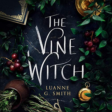 "AudioFile Magazine Review:  THE VINE WITCH The Vine Witch, Book 1 by Luanne G. Smith | Read by Susannah Jones Fantasy • 8.75 hrs. • Unabridged • © 2019 Narrator Susannah Jones delivers the adventures of the vine witch, Elena, as she seeks to break the seven-year curse that turned her into a toad. She is determined to find the source of the curse. Jones reveals fondness for Elena and her aunt as she describes the magic that is a significant aspect of the ""art"" of wine making. Set in France at the turn of the twentieth century, the story is reminiscent of a fairy tale, complete with an evil witch, a dastardly inspector of magic who is out to get Elena, and two handsome males. Jones captures the light and airy atmosphere except where plot delves into the struggle of good versus evil. J.E.M. © AudioFile 2019, Portland, Maine [Published: NOVEMBER 2019]"