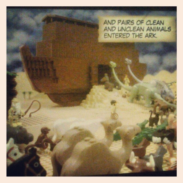 Instagram - This was the picture that sold me...dinosaurs on the Ark.jpg