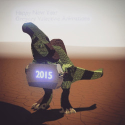 Instagram - Introducing Gregoryvalentineanimations very first parasarolophus mad