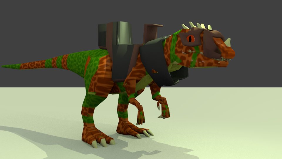 cerato saurus cycles render 5132013textured rendered lepord.png