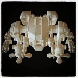 Instagram - Saynt asssult mecha battle tank my own design  #robot #mech #exosuit