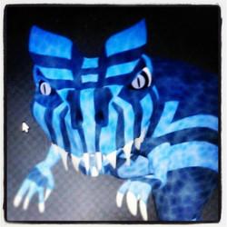 Instagram - Blue Allosaurus #GVA #gregoryvalentineanimations #Allosaurus