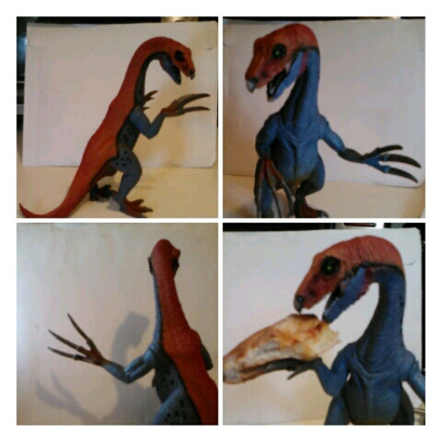 "Instagram - Therizinosaurus. Name meaning ""Scythe lizard."" Known only from a few"