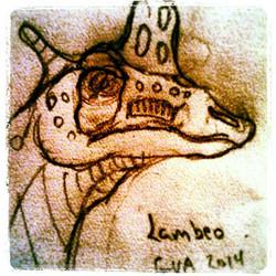 Instagram - #Lambeosaurus 2014 plant eater #dinosaur #GVA #gregoryvalentineanima
