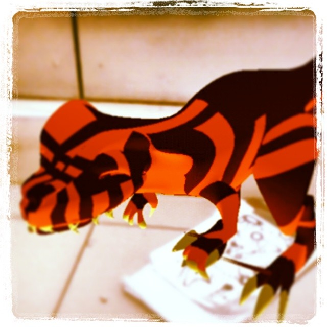 Instagram - Baby Red #Allosaurus at the laundry #GregoryValentine #Animations