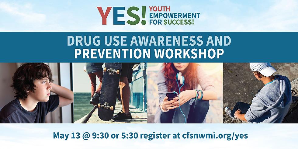 Drug Use Awareness and Prevention Workshop (Afternoon)