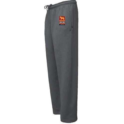 Superweight Fleece Sweat Pants with Logo