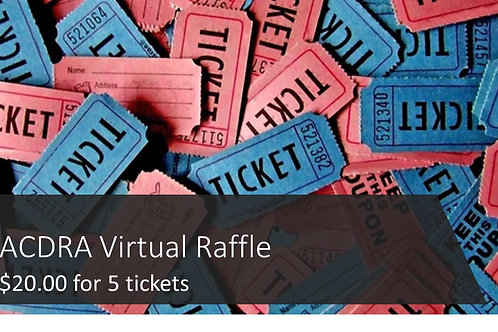 5 Pack of Trivia Night Raffle Tickets