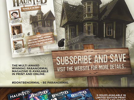 Subscribe to Haunted Magazine
