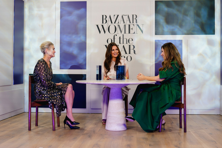 Harpers Bazaar Women of the Year award 2