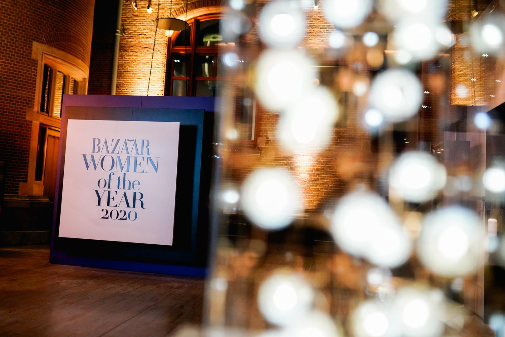 Harpers Bazaar Women of the Year award 2
