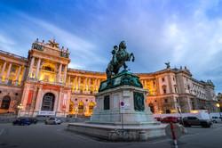 Дворец Габсбургов Хофбург