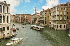 Речной канал Венеции