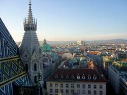 Панорама с собора святого Стефана