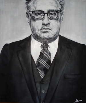'a man who look like henry kissinger'