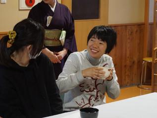 新春お茶会を行いました
