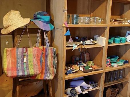 川越の古民家カフェ「une brise ユヌブリーズ」にてさをり委託販売はじめます。