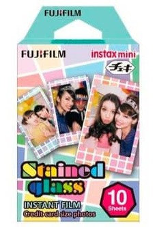 Instax mini stained glass
