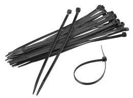Kabelbinder schwarz 140mm x 3.6mm 100 Stk.