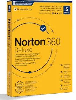 Norton 360 Deluxe 5 Geräte / 1 Jahr