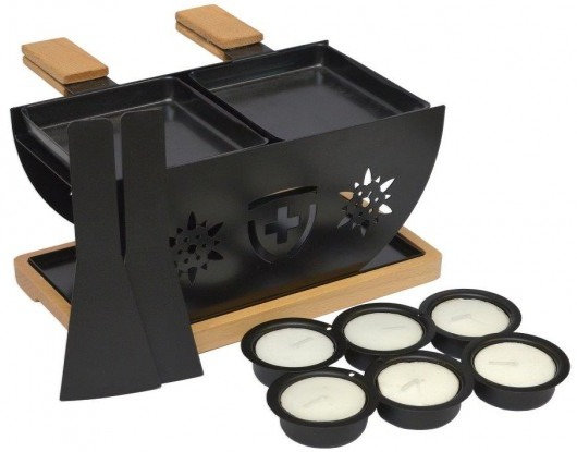 Flower Raclette-Set