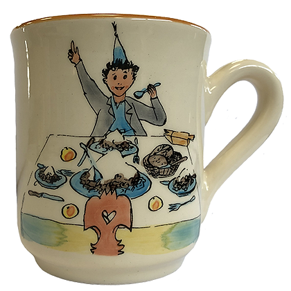 """Mug """"Ursli am Tisch"""" 0.3l"""