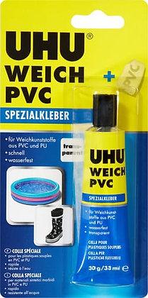 Kunststoffkleber weich Uhu ideal für PVC 30g
