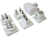 Adapter Set Schweiz - World T13, 3-polig, max. 6.3A, Multi