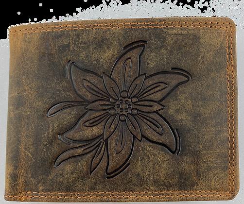 Brieftasche Wildleder Edelweiss