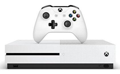 MICROSOFT Xbox One S 1 TB White