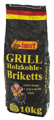 Holzkohlenbriketts Gastro 10kg