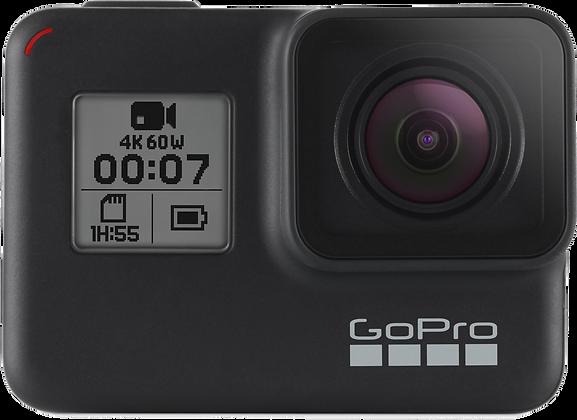 GoPro Hero 7 Black (12MP, 60p, Schwarz)