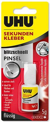 Sekundenkleber Super Glue mit Pinsel, 5g