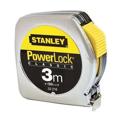 Rollmeter Powerlock 3 m mit Feststellvorrichtung / SB
