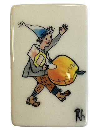 Zündholzschachtel klein Ursli Glocke vorne BOX