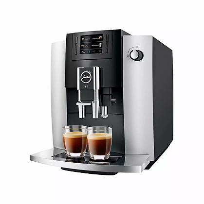 JURA E6 Platin (SB) Kaffeemaschine Vollautomat
