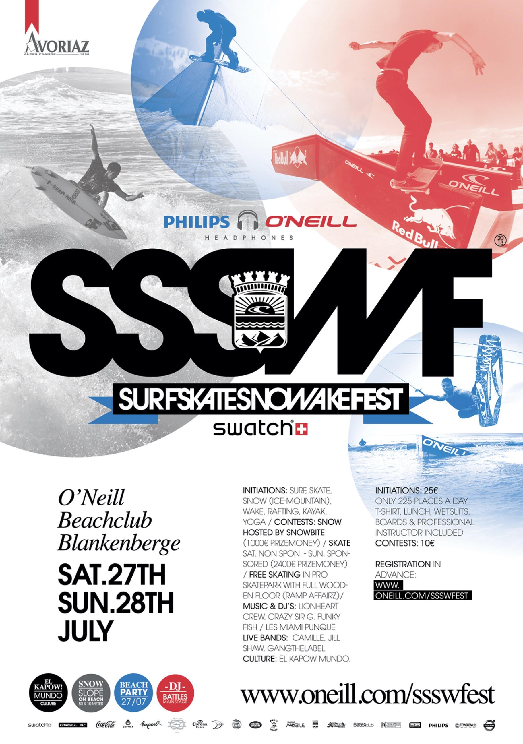 Skate Surf Snow Wakefest
