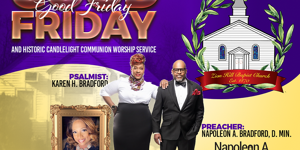 Good Friday and Historic Candlelight Communion Service