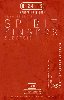 Spirit Fingers Electric