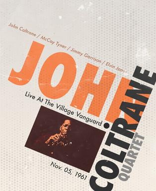 "John Coltrane Quartet ""Vintage"" Poster"