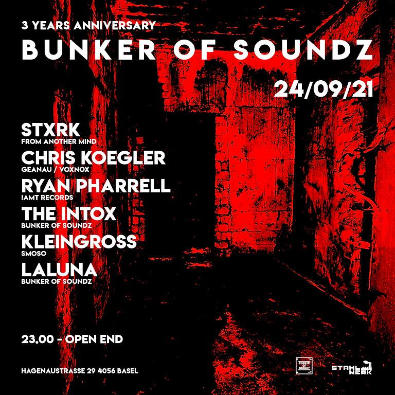 3 Years Bunker of Soundz