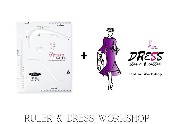 TPD Ruler +Dress Sleeve Collar Online Workshop Bundle