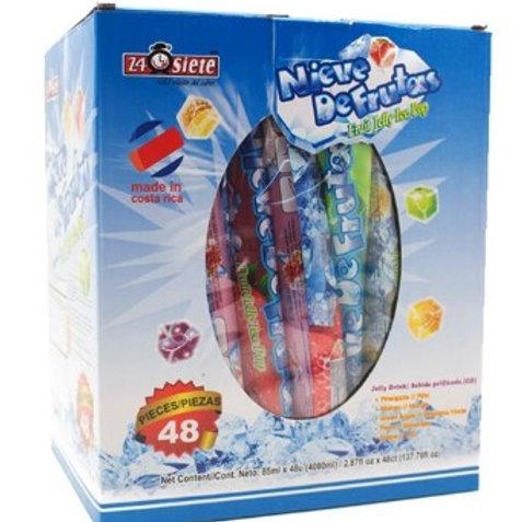 Bolsa de 20 Ice Pop de sabores