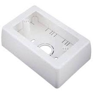 Caja de sobreponer rectangular 40mm Dexson