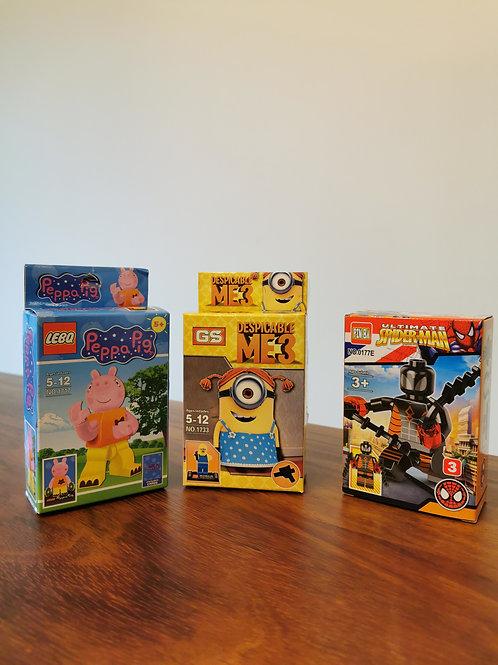 "3 Mini ""Legos"""