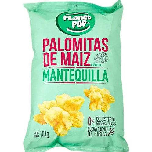 5 bolsas grandes de Poporopos con Mantequilla