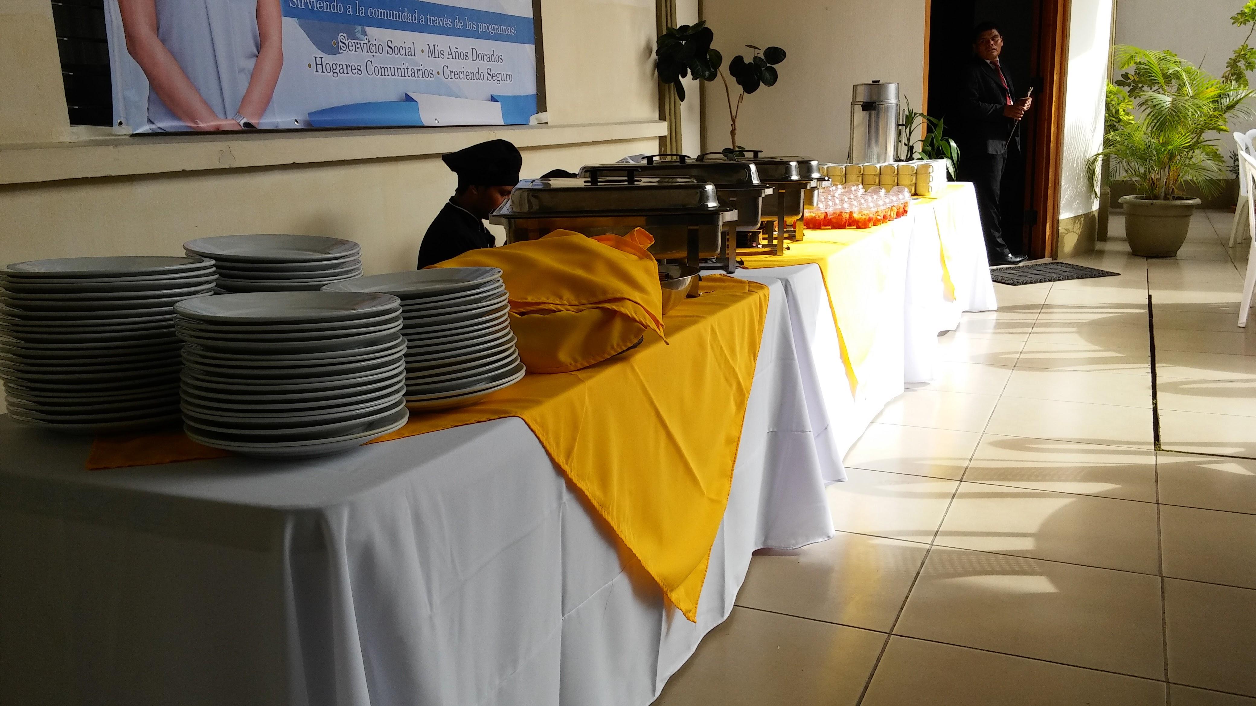 Evento en la SOSEP