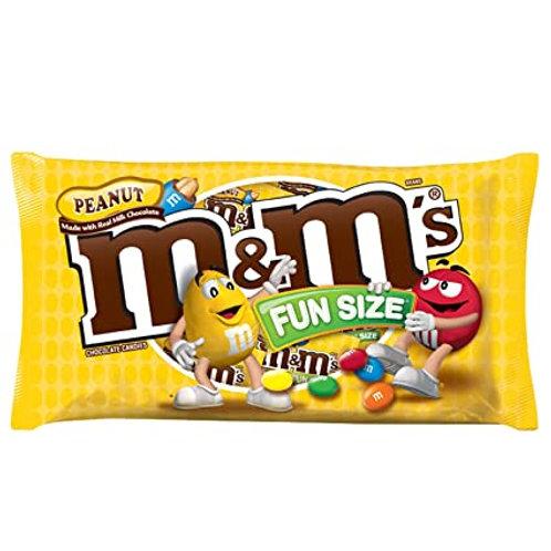 Bolsa de 20 M&M's Peanut & Peanut Butter