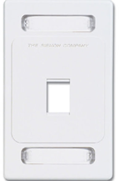 Placa vertical - 1P Siemon